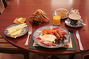 Full English Breakfast at Ranevale Gust House